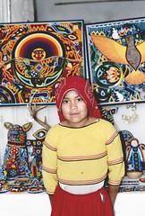 Huichol Girl ~ Real de Catorce San Luis Potosi, Mexico (1coffeelady) Tags: indigenous indian indio mexico huichol huicholes wixaritari indios crafts people indians artesanias gente huicholgirl realdecatorcemexico muchachahuichol sanluispotosimexico realdecatorcesanluispotosimexico mexicosindios indiosdemexico aztecas aztec