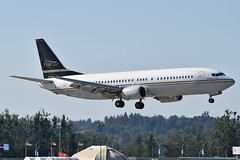 C-FLEN (LAXSPOTTER97) Tags: cflen flair airlines boeing 737 737400 cn 24769 ln 1839 aviation airport airplane cyxx