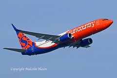 B737-8KN N833SY SUN COUNTRY (shanairpic) Tags: jetairliner b737 boeing737 shannon suncountry n833sy a6fdq
