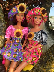 barbie and teresa sunflower (illina86) Tags: barbie teresa sunflower doll mattel