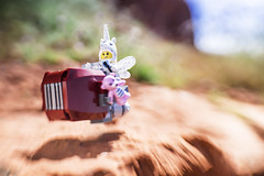 """""""Always remember that you are absolutely unique. Just like everyone else."""" ― Margaret Mead (Shelly Corbett Photography) Tags: lego toyphotography lensbaby blur legography unicorn toys"""