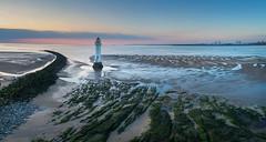 Perch Rock Panorama #1   smll (GOLDENORFE) Tags: drone phantom4pro panorama perchrock lighthouse