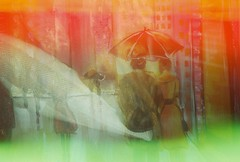 25/365 (KateysWorld) Tags: doubleexposure 35mmfilm 35mm psychedelicblues psychedelicbluesfilm canon eos 50e