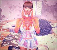 ♔ LoTd 409 (Victoria Michigan) Tags: extra poses poison rouge 1 hundred carolg asw sense event lelutka maitreya ade hair sl second secondlife life blogger blog