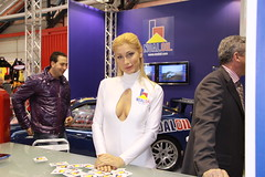 motorshow girl (themax2) Tags: bologna hostess 2009 motorshow girl blonde