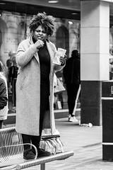 Preachin' (EightBitTony) Tags: bench streetfurniture city nottingham female preacher urban canon7d2 march person woman religion streetphotography blackandwhite citycentre 2019 uk nottinghamshire bw blackwhite canon canon7dmarkii canon7dmark2 canon7dmk2 canon7dii canondslr canoneos canoneos7dmarkii canoneos7d2 canoneos7dii mono monochrome england unitedkingdom