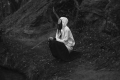 Bw (vlkvaph) Tags: cinematography cinematic melancholic melancholy atmospheric atmosphere female woman nature portrait mood darkness dark emotional sad girl canon6d canon bw monochrome blackandwhite blackwhite