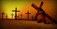 The Long Journey `color` (Easter Series #3a of 4) (umshlanga.barbosa) Tags: crucifixtion jesus christ cross
