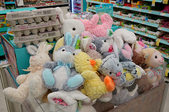 Walgreens Easter Holiday Aisle 3-21-19 02 (anothertom) Tags: iowacoralville walgreens shopping store easter holidayitems plushtoys bunnyears plushies yellowchick eggcartons bunnieschicks duckie cutestuff spring pastelcolors 2019 sonyrx100ii