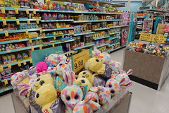Walgreens Easter Holiday Aisle 4-15-19 01 (anothertom) Tags: iowacoralville walgreens shopping store easter holiday chicksbunnies eastercandy treats plushies pastelcolor 2019 sonyrx100v