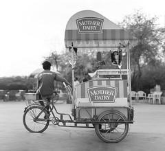 Ice cream - Takumar 50mm 1.4 (Brenizer method, 37mm f1.0) (thomas.pirolt) Tags: blackandwhite bw monocrome india takumar sony