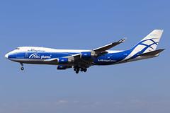 AirBridgeCargo  Boeing 747-4HA(ER/F) VP-BIM (widebodies) Tags: frankfurt main fra eddf widebody widebodies plane aircraft flughafen airport flugzeug flugzeugbilder airbridgecargo boeing 7474haerf vpbim