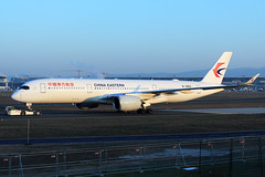 China Eastern Airlines  Airbus A350-941 B-305X (widebodies) Tags: frankfurt main fra eddf widebody widebodies plane aircraft flughafen airport flugzeug flugzeugbilder china eastern airlines airbus a350941 b305x