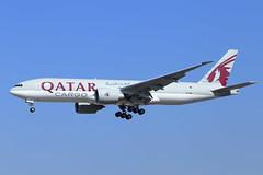 Qatar Airways Cargo  Boeing 777-FDZ A7-BFP (widebodies) Tags: frankfurt main fra eddf widebody widebodies plane aircraft flughafen airport flugzeug flugzeugbilder qatar airways cargo boeing 777fdz a7bfp
