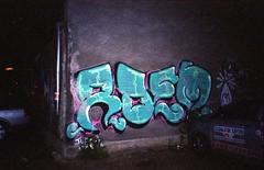 (Bucuresci Cartel) Tags: graffiti romania olympus xa2 kodak gold expired iso200 bucharest street flash