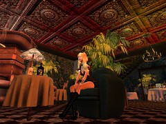 Learn Something To Our Mutual Benefit It Said (Cherie Langer) Tags: steampunk meeting airship pirate hotel