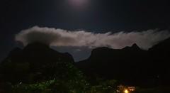 Noite em São Conrado (Claudia_Orlanda) Tags: sãoconrado pedradagávea landscape mountain montanha paisagem paisagemnoturna sky nuvens noite night dream
