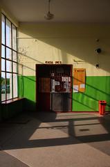 Chojna (dworzec  główny) (jotka*26) Tags: chojnadworzecgłówny polonia poland polska polen trainstation chojna shadowplay shadows entree germany berlin jotka26 composition