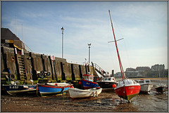 Boats in the Bay....... (Jason 87030) Tags: sophia boats masts bay viking kent broadstairs beach sand mus ocean coast water suny harbour cene uk england april 2019 maritime nice frame border light composition