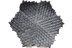 Void Pinecone (Arseni Ko) Tags: origami pattern paper design symmetry geometry tesselation