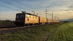 Re 430 357 (Die_Eisenbahn) Tags: sbb sbbcargo sbbc re430 re430357 postzug güterzug cargoexpress freighttrain bellach zug train schweiz switzerland