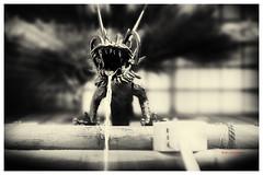 la fuente dragón (bit ramone) Tags: japon dragón agua water fuente fountain bitramone blancoynegro blackandwhite osaka