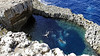 San Lawrenz | Blue Hole (globetrotter-unterwegs) Tags: reise travel globetrotterunterwegs 2018 malta gozo sanlawrenz dwejra bluehole