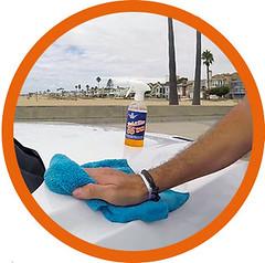 carwash_waterless_shinykings_clean1 (shinykings) Tags: motorcycle cleaning towel waterless car wash wax kit