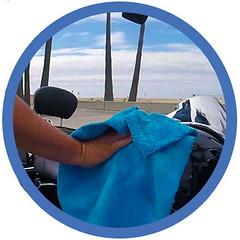 bikewash_waterless_shinykings_clean1 (shinykings) Tags: motorcycle cleaning towel waterless car wash wax kit