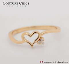 Natural Diamond Pave Heart Shape Wedding Ring Solid 18k Yellow Gold Handmade Fine Jewelry (couturechics.facebook1) Tags: natural diamond pave heart shape wedding ring solid 18k yellow gold handmade fine jewelry