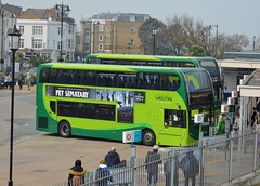 Ryde Bus Station (PD3.) Tags: adl enviro 400 station isle wight iow bus buses hampshire hants england uk ryde newport southern vectis