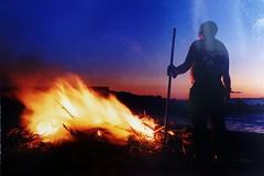 Yashica fx3 super 2000 (lucianoserra490) Tags: yashicafx3super2000 analogica film fuoco spiaggia colore maredinverno
