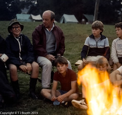 Scout Summer Camp 1986 (Tim Booth) Tags: 1stfinchampstead camps devon england scoutsummercamp1986 scouts totnes