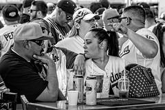 Bar Business (Steve Mitchell Gallery) Tags: people menandwomen relationships hookups pickup drink socialize talk argue negotiate bar bars liquor alcohol street