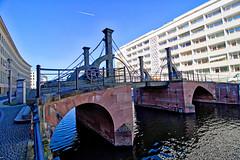 Berlin - Spreekanal, Jungfernbrücke (www.nbfotos.de) Tags: berlin spreekanal jungfernbrücke brücke bridge