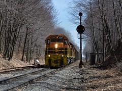 BP 3341 Extra at CP Boyer. (bobchesarek) Tags: bprr buffalopittsburghrailroad cpboyer borr colorpositionlight cpl trains railroad locomotive