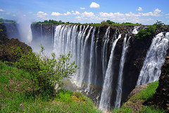 Rainbow Falls, the tallest part of Victoria Falls from Zambian side (Andrey Sulitskiy) Tags: zambia zambezi victoriafalls