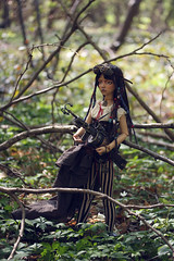 Ivan (Mdame Follow-the-Wind) Tags: ivan maskcatdoll maskcatlisette steampunk doll bjd abjd forest outside