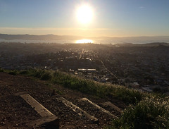Stairs Before a Rising Sun (mr0grog) Tags: twinpeaks iphone
