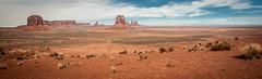 Vast Utah Expanses (RoamingTogether) Tags: 70200vrii arizona merrickbutte monumentvalley nikon nikon7020028 nikond700 northwindowoverlook sentinelmesa utah