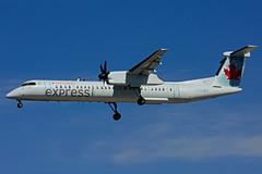 C-GJZN (Air Canada express - JAZZ) (Steelhead 2010) Tags: aircanada aircanadaexpress jazz bombardier dhc8 dhc8q400 yyz creg cgjzn