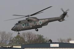 Aérospatiale AS332 L2 Super Puma CN-AZT GENDARMERIE ROYAL DU MAROC 2587 Entzheim avril 2019 (Thibaud.S.) Tags: aérospatiale as332 l2 super puma cnazt gendarmerie royal du maroc 2587 entzheim avril 2019