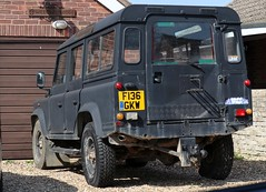 F136 GKW (Nivek.Old.Gold) Tags: 1989 land rover 110 turbo station wagon 2495cc diesel