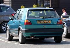 H805 ASL (Nivek.Old.Gold) Tags: 1991 volkswagen golf gti 5door 1781cc craignairncars
