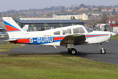 G-GURU (GH@BHD) Tags: gguru piper pa28 pa28161 cherokee cherokeewarrior warrior ulsterflyingclub newtownardsairfield newtownards aircraft aviation