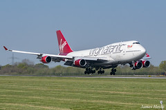 "Virgin Atlantic G-VBIG ""Tinker Belle"" B747-400 at Manchester Airport 19-04-19 (JH Aviation and Railway Photography) Tags: virginatlantic viewing park airliner airport aircraft aviation airways airlines aviationviewingpark avp b747 boeing egcc manchester manchesterairport jetliner jet jets"