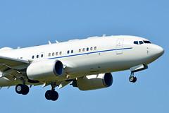 02-0042 USAF United States Air Force Boeing C-40 (czerwonyr) Tags: