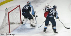 Action Near The Net (mistabeas2012) Tags: ahl hockey