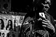 Portrait @ Matongé (Victor Borst) Tags: brussels brussel blackandwhite bw mono monotone monochrome urban urbanroots urbanjungle candid fuji fujifilm xpro2 belgium belgie portrait street streetphotography streetlife reallife real realpeople europe