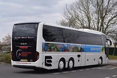 51-BNB-2 South West Tours, Dalfsen, Netherlands (highlandreiver) Tags: 51bnb2 south west tours dalfsen netherlands man lion coach coaches bus gretna green scotland